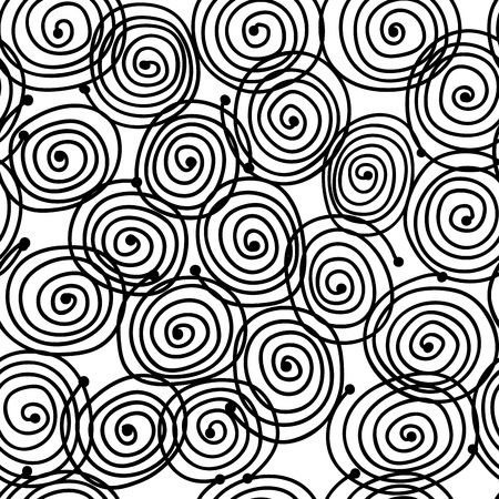 random pattern: Abstract swirl pattern for your design Illustration