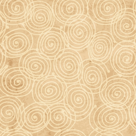ful: Abstract swirl pattern, grunge paper for your design Illustration