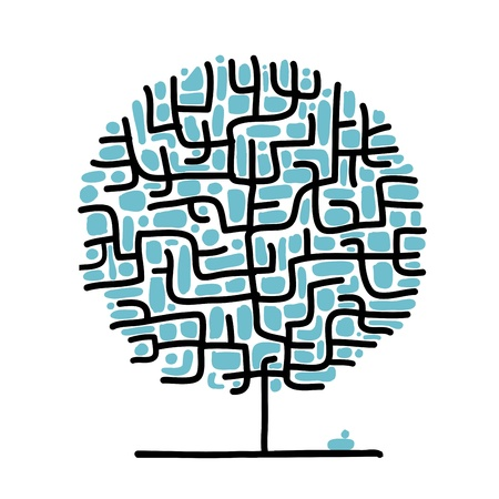 decision tree: Maze tree for your design