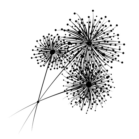 암술: 귀하의 디자인에 대 한 민들레 꽃
