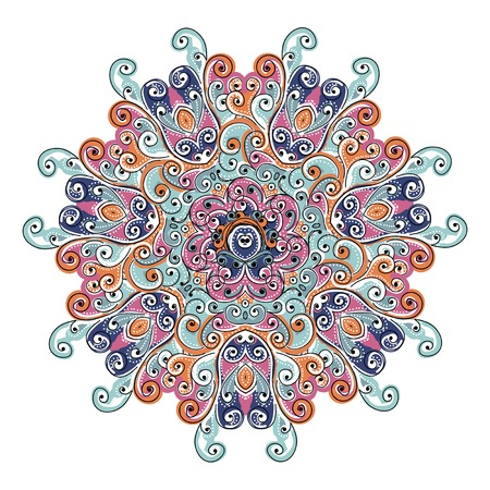 Colorful arabesque ornament for your design Stock Vector - 22697452