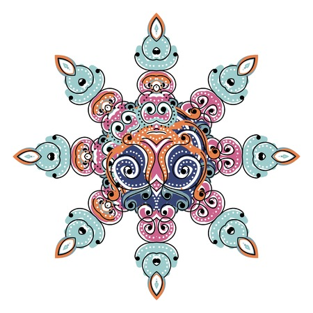 Colorful arabesque ornament for your design Stock Vector - 22697453