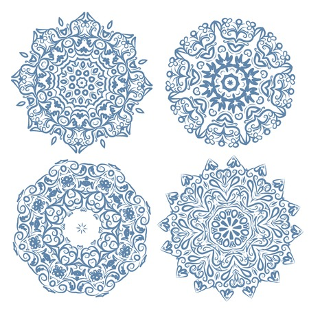 Set of arabesque ornament for your design Stock Vector - 22697507