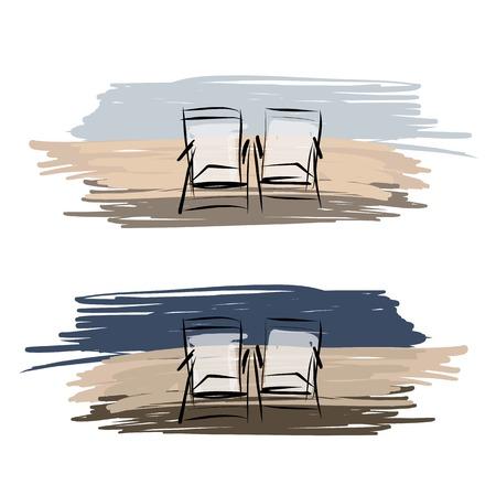 Strandkorb Skizze sdatec.com