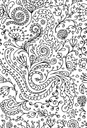 Ornamental floral seamless pattern for your design Stock Vector - 23228788