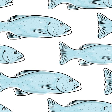 Fish pattern sketch for your design Stock Vector - 27150990