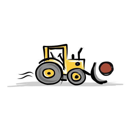agrimotor: Tractor, construction equipment for your design