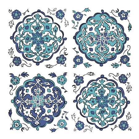 Abstract turkish pattern for your design Vector