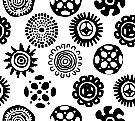 Ethnic handmade ornament, seamless pattern for your design Stock Vector - 29228122