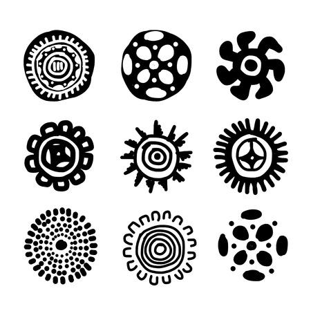 Ethnic handmade ornament for your design Stock Vector - 29253637