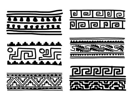Ethnic handmade ornament for your design Stock Vector - 29253648