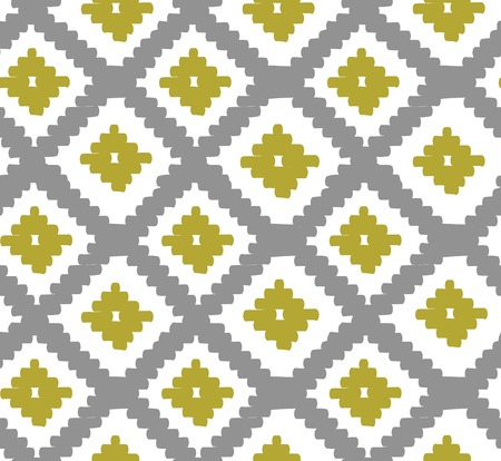 western pattern: Abstract geometric fabric pattern for your design