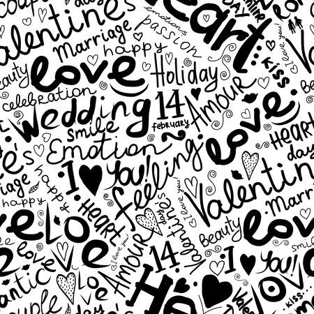 simbolo uomo donna: Valentine seamless per la progettazione