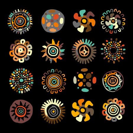 Ethnic handmade ornament for your design.  illustration