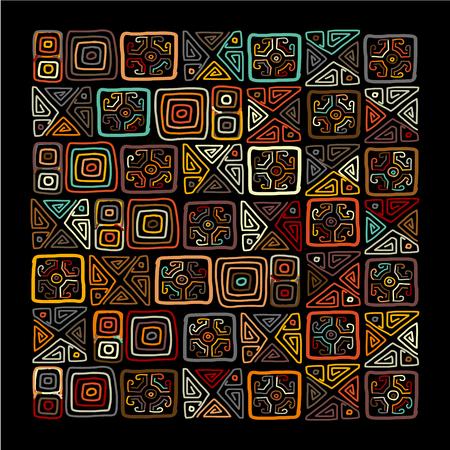 arabesco: ornamento étnicos artesanales para su diseño