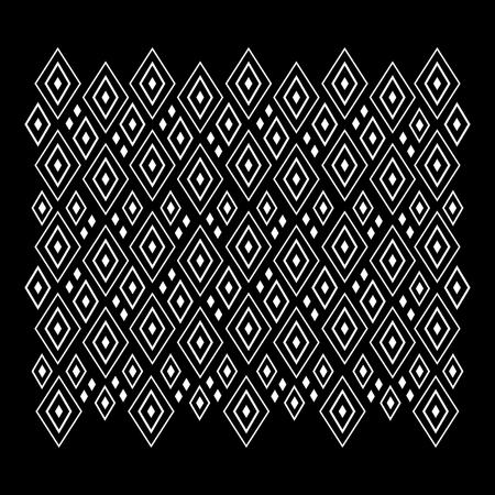 Abstract geometric pattern, rhombus design. Vector illustration
