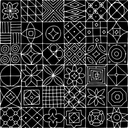 Abstract geometric seamless pattern for your design Иллюстрация
