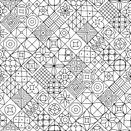 Abstract geometric seamless pattern for your design Ilustração