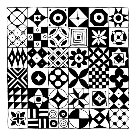 pattern: Abstract geometric pattern for your design Illustration
