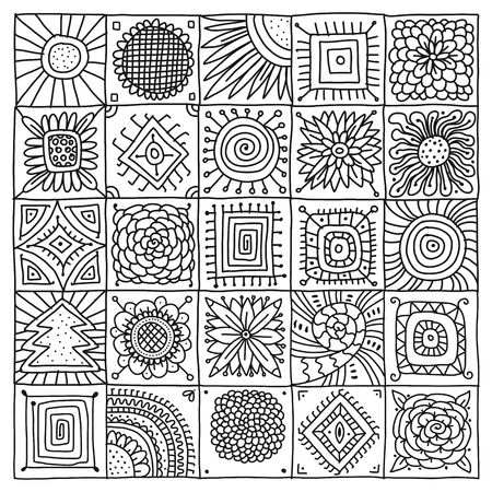 Abstract geometric pattern for your design. Vector illustration
