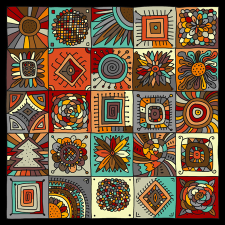 Abstract geometric pattern for your design. Vector illustration. Vectores