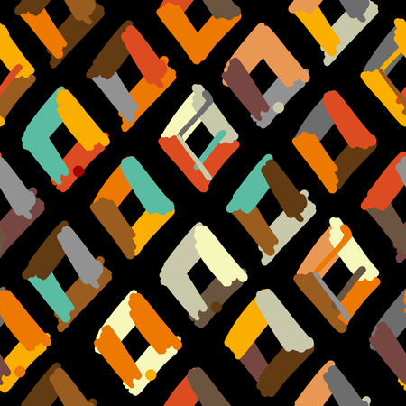 Abstract geometric fabric pattern for your design.