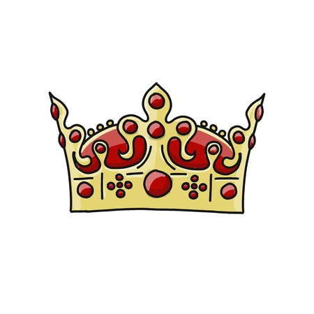 Crown sketch design