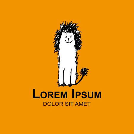 Dog logo for your design