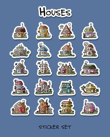 Houses. Ilustracja