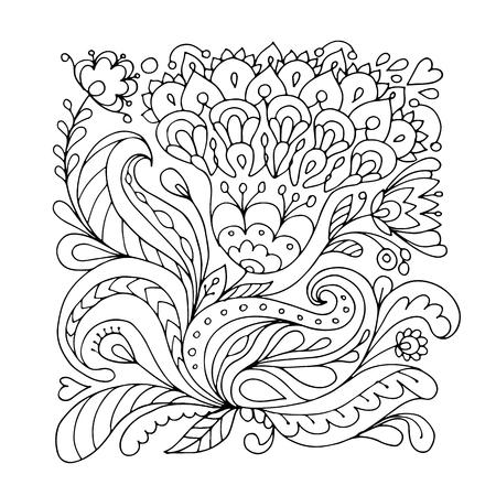 花の飾り、あなたの設計のためのスケッチ