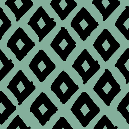 Abstract geometric fabric pattern.