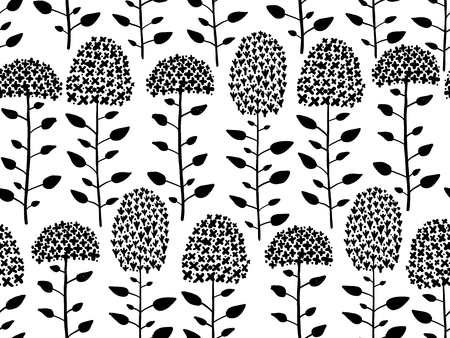 Floral pattern illustration.