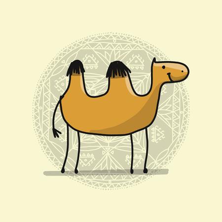 Camel sketch