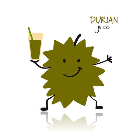 Durian, funny character for your design