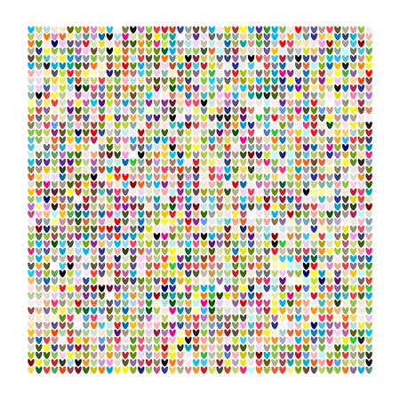 Knitting texture, pattern design Vector illustration