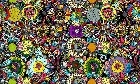 Kwiatowy wzór dla swojego projektu. Ilustracji wektorowych Ilustracje wektorowe