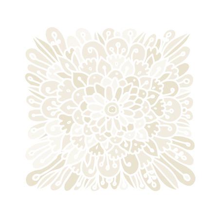 Floral background, hand made sketch for your design. Vector illustration Illustration