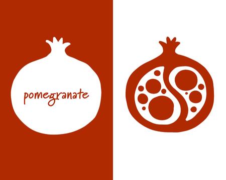 Pomegranate, sketch for your design