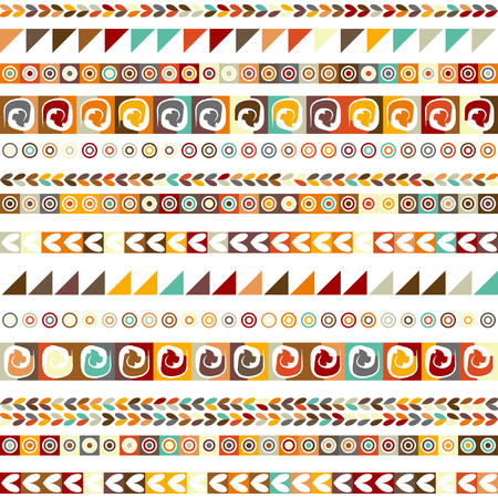 Ethnic handmade ornament, seamless pattern for your design.