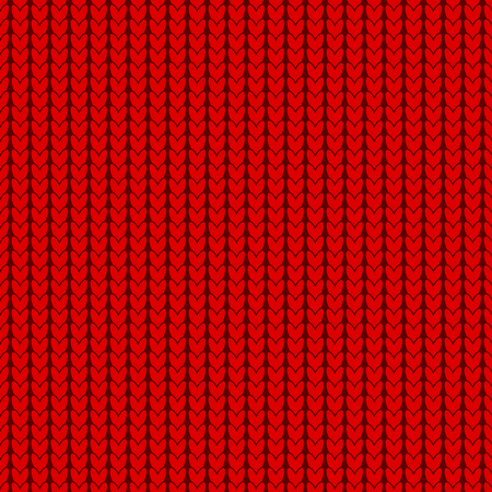Knitting texture, seamless pattern design Ilustrace