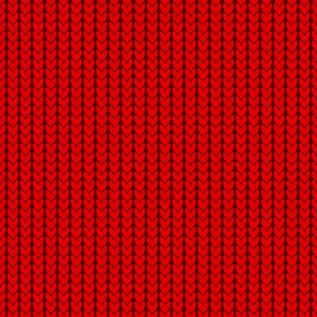 Knitting texture, seamless pattern design Illustration