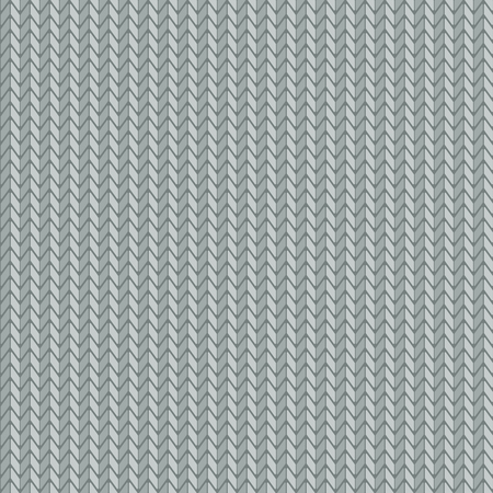 Knitting texture, seamless pattern design Ilustracja