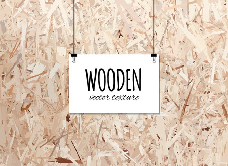 Wooden texture for your design. Trace of wooden background. Vector illustration