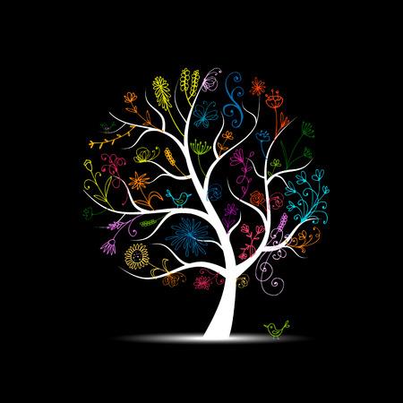 Blumenbaum für Ihr Design