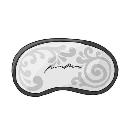 Sleep mask, sketch for your design