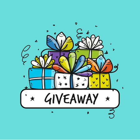 Giveaway banner for your design