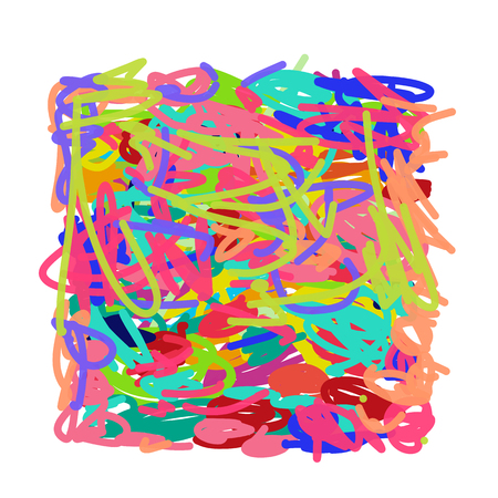 Abstract scribble background for your design. Vector illustration