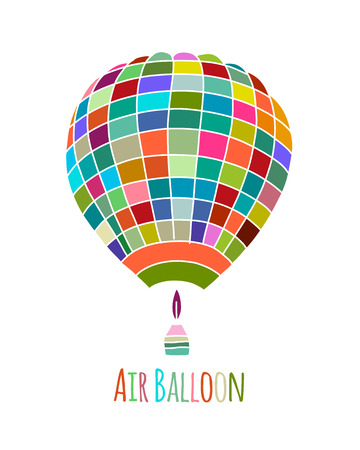 Air balloon for your design. Vector illustration Stock Vector - 110021037
