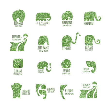 Elephant logo collection for your design