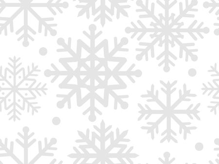 Snowflakes, seamless pattern for your design
